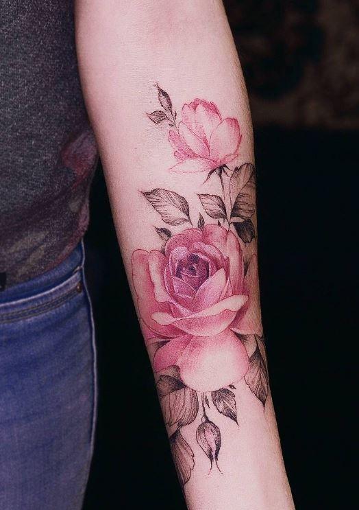 tatuajes para mujeres de rosas