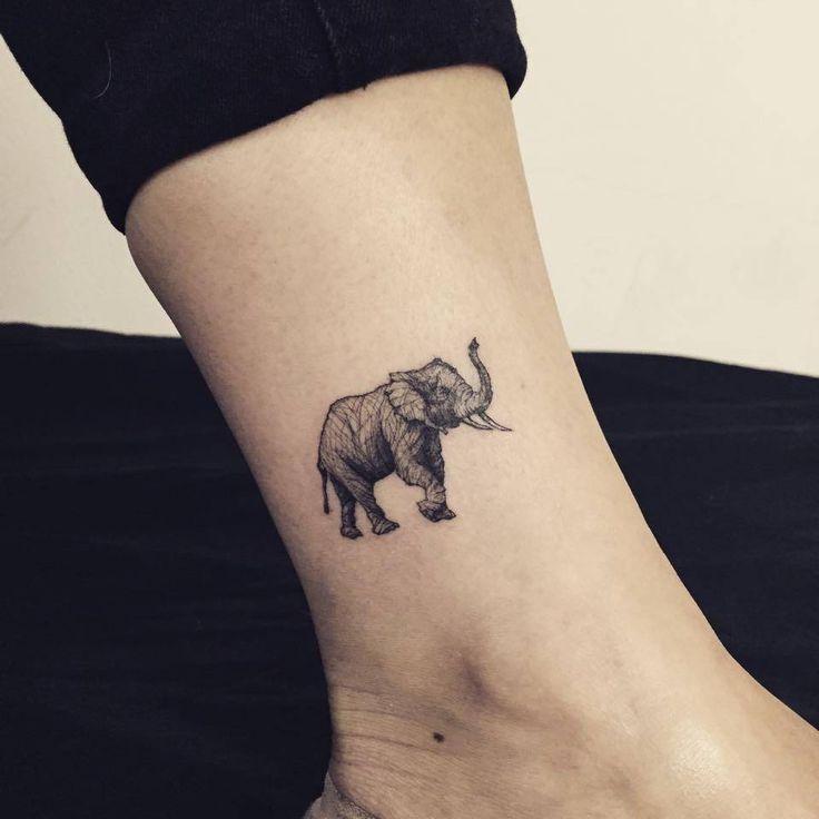 30 Mejores Tatuajes De Elefantes Y Su Significado Top 2018