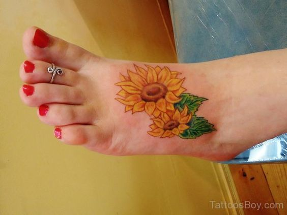 tatuajes de girasoles