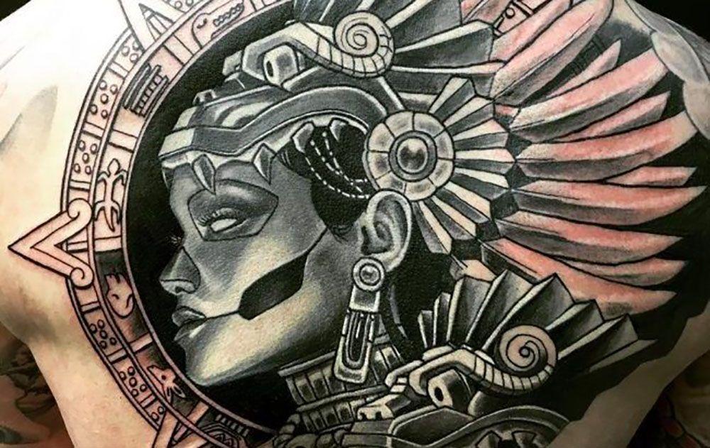 25 Mejores Tatuajes Maya Historia Simbolos Y Su Significado 2018