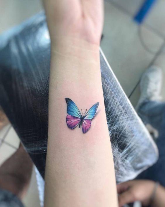 49 Mejores Tatuajes De Mariposas Y Su Significado Top 2018