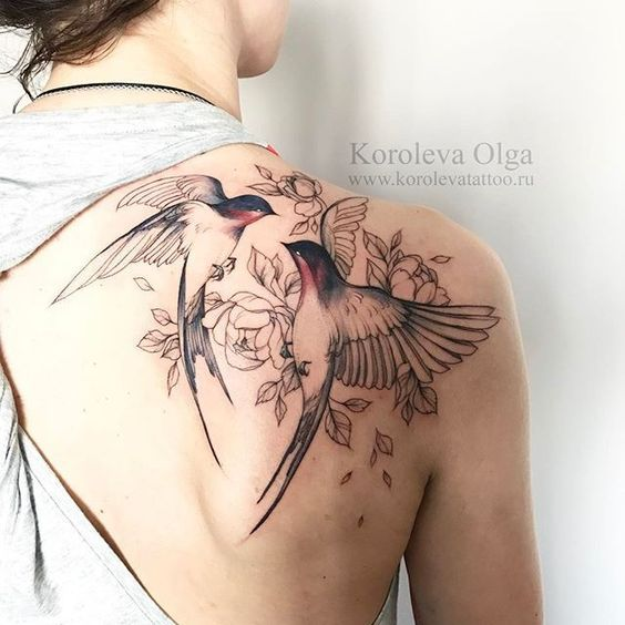 tatuajes de pajaros