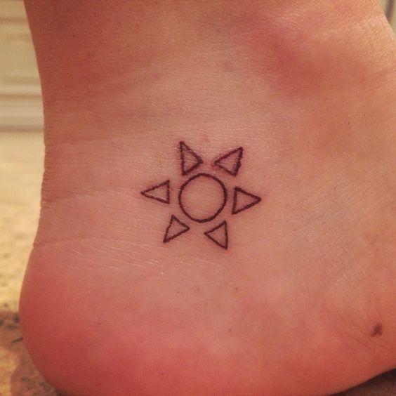 tatuajes de sol