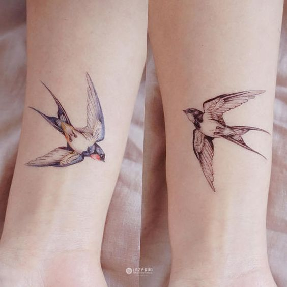 41 Best Beautiful Quote Tattoos And Bird Images On: 41 MEJORES Tatuajes De Pájaros Y Su Significado【TOP 2019】